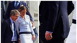 Pár měl maličkou svatbu v Chelsea.