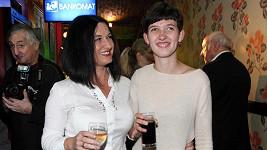 Mirka Čejková s dcerou
