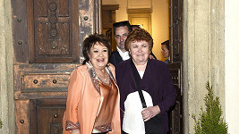 Jiřina Bohdalová a její sestra Jaroslava