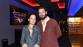 Petr Svoboda s manželkou