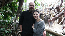 David Ondříček a Martha Issová