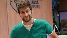 Marek Němec coby David Hofbauer v novém seriálu.