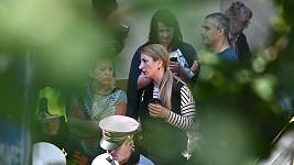 Anna Polívková přišla za svou maminkou, kterou evakuovali z domu, kde explodovaly dva byty.