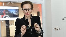 Zuzana Stivinová by se bez brýlí neobešla