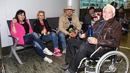 Dáda Patrasová vyrazila společně s manželi Krampolovými do Tuniska.
