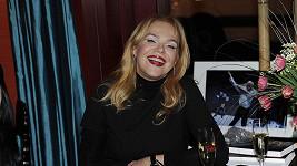 Dagmar Havlová zase rozdávala jeden úsměv za druhým.