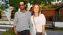 Petra Špindlerová s přítelem