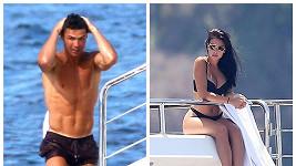 Ronaldo a Georgina vystavili na odiv své figury.