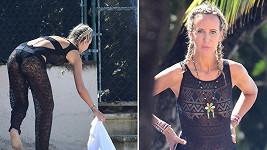 Lady Victoria Hervey (41) si užívá sluníčka na Barbadosu.
