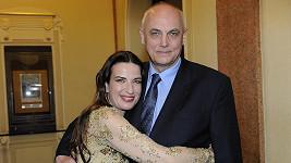 Míša Jílková s Michalem Voráčkem ještě ve šťastných dobách