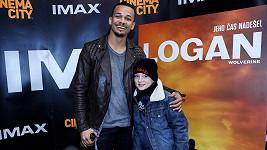 Ben vyrazil s Maxem na českou premiéru snímku Logan: Wolverine.