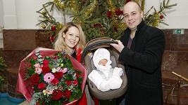 Markéta Martiníková přivedla na svět dceru.