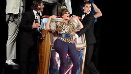 Vanda Hybnerová se převlékla do vtipného kostýmu.