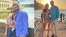 Emanuele Ridi s přítelkyní Sárou