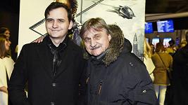 Pavel Soukup se synem