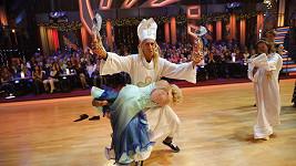 Zdeněk Chlopčík tančil jako Mikuláš.
