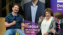 Vojta Staš a Jiřina Bohdalová