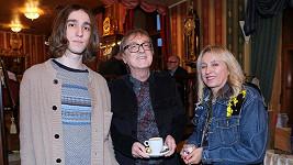 Meky Žbirka se synem Davidem (22) a manželkou Kateřinou