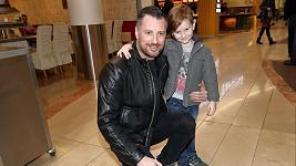 Petr Vágner se synem
