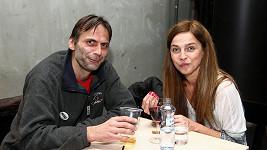 Lucie Zedníčková na srazu stávkujících studentů