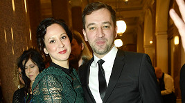 Ondřej Sokol se snoubenkou Nikolou