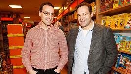 Pavel Zuna a bratr Jan Zuna