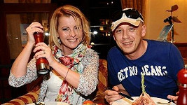 Iveta Bartošová s Martinem Wolfem.