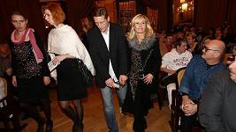 Tereza Pergnerová s přítelem Jiřím Chlebečkem