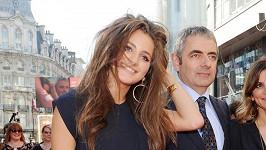 Krásná dcera Rowana Atkinsona Lily.