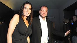 Lucie Králová s partnerem Jiřím Šlégrem.