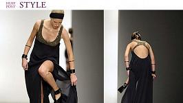 Modelku může toto drobné klopýtnutí na přehlídce Amandy Wakeley stát celou kariéru.