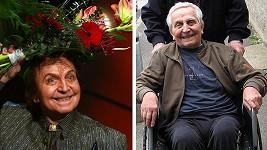 Mim Čejka v roce 2008 a dnes
