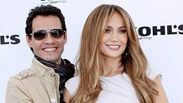 Jennifer Lopez s manželem Markem Anthonym, s nímž se nyní rozvádí.