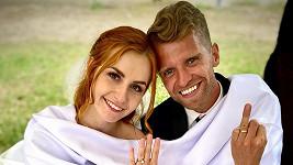 Petr Harazin s manželkou Agátou