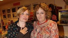 Jitka Smutná s přítelkyní Petrou Braunovou.
