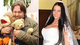 Jiří Pomeje se dnes žení s krásnou Andreou Šťastnou.