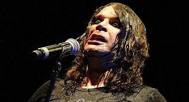 Ozzy Osbourne během koncertu
