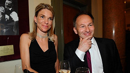 Marek Wollner s manželkou Kateřinou