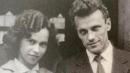 Svatební foto rodičů Lucie Bílé