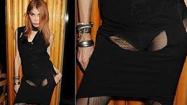 Sophia Lamar provokuje svým modelem.