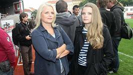 Berenika Suchánková s maminkou.