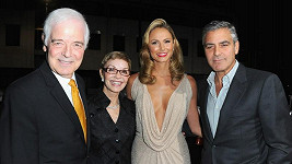 Rodiče George Clooneyho, Stacy Keibler a George