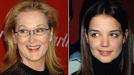 Meryl Streep chce Katie Holmes do své rodiny.