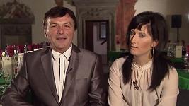 Pavel Trávníček s Michaelou Fialkovou.