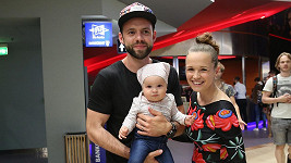 Michael Foret s rodinou