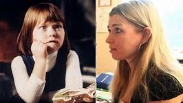 Jako Maruška v Arabele (1979) a jako učitelka Veronika nyní.