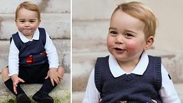 Princ George opět dokazuje, jak je kouzelný.