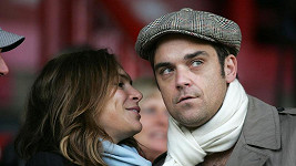 Robbie Williams a Ayda Field.