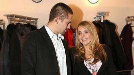 Lucie Vondráčková s manželem Tomášem Plekancem