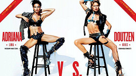 Adriana Lima vs. Doutzen Kroes na obálce magazínu V.